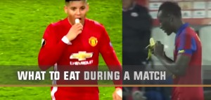 What to eat during a football match